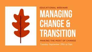 Managing Change Webinar