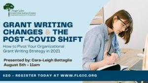 Grant Writing Webinar Post Covid Tips